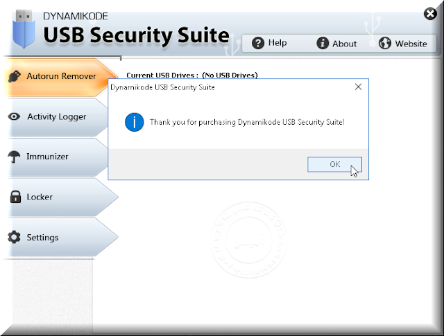 Dynamikode USB Security Suite Registration Key