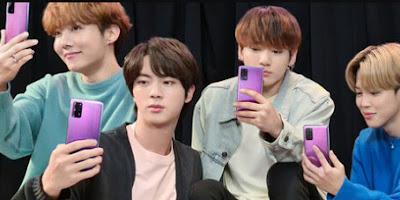 Fans BTS? Cek Harga Samsung S20 BTS Edition Disini!