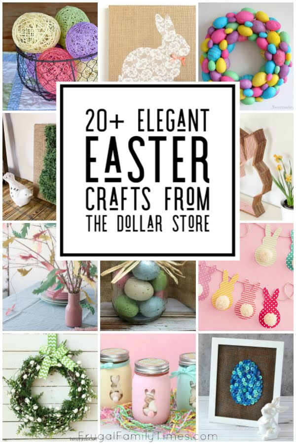 Easter dollar store crafts