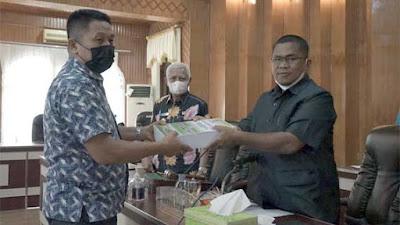 Bupati Asahan Sampaikan Jawaban Atas Pandangan Umum Fraksi DPRD terhadap LKPj TA 2020