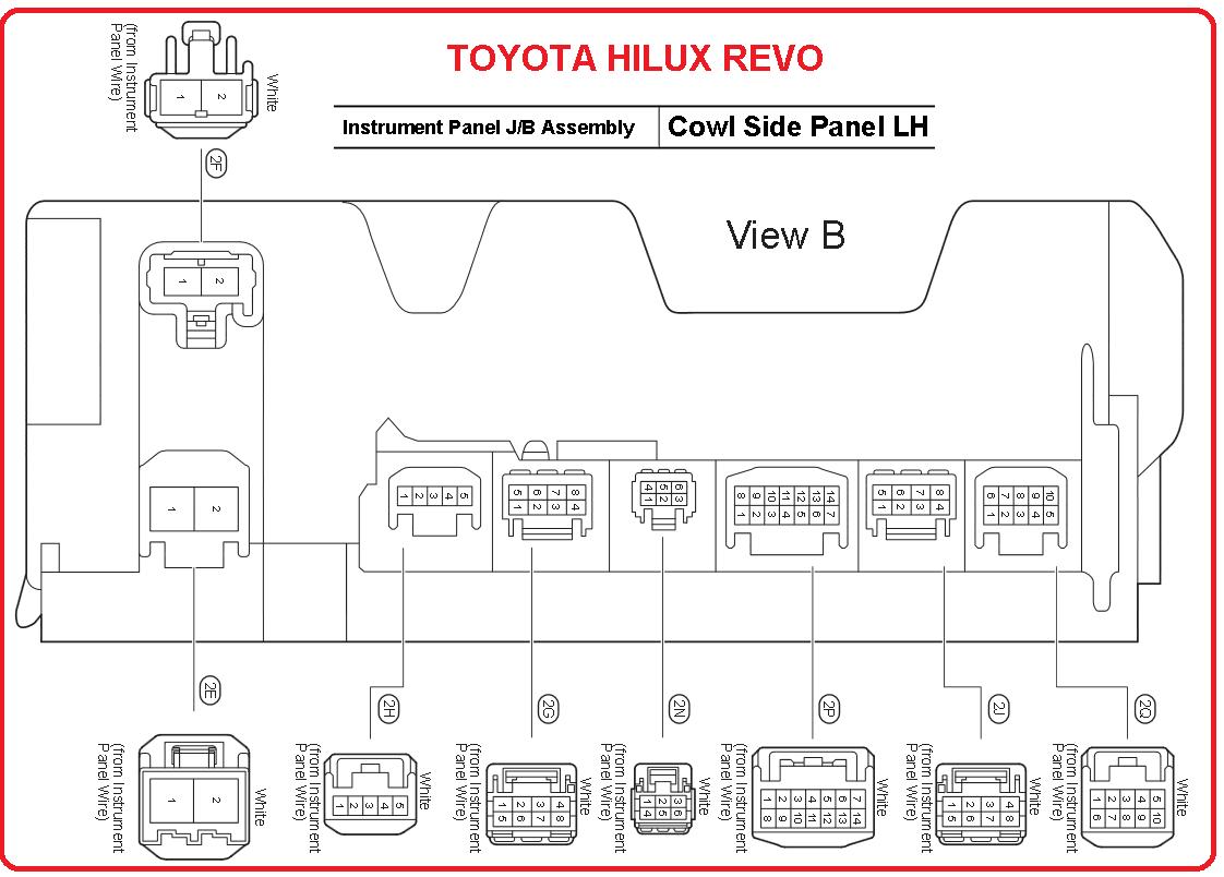 hilux wiring diagram xlr wire toyota revo engine playstation 3 controller