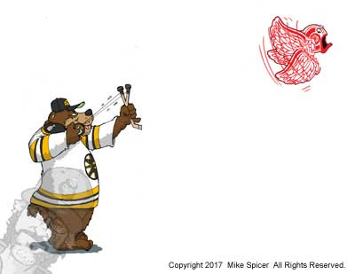 Boston Bruins hocey picture