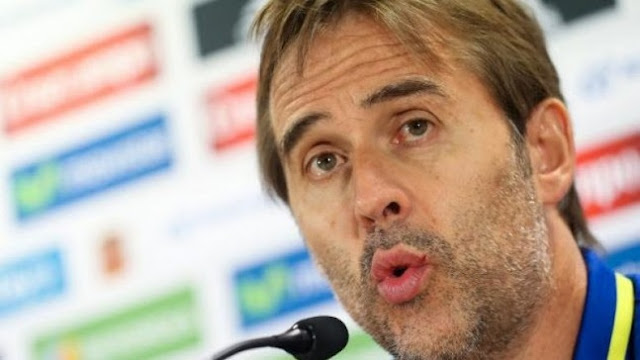 Julen Lopetegui: against Albania will be more difficult than Italy