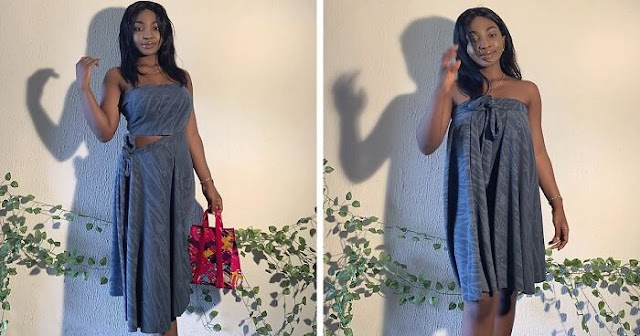 Nigerian Fashion Designer Is Taking Social Media By Storm With Her Smart Dresses That Can Be Styled Up To 11 Ways