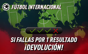 sportium Fútbol: Combinada con seguro hasta 6-9-2020