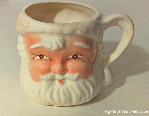 Vintage Santa cup Japan