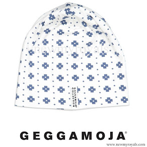 Prince Oscar wore GEGGAMOJA Blue Cross Cap