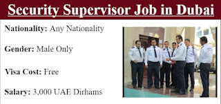 Security Supervisor Job Vacancy in Ask International Group Dubai, UAE | Direct Walk-in-Interview On 7th June to 17th June 2021
