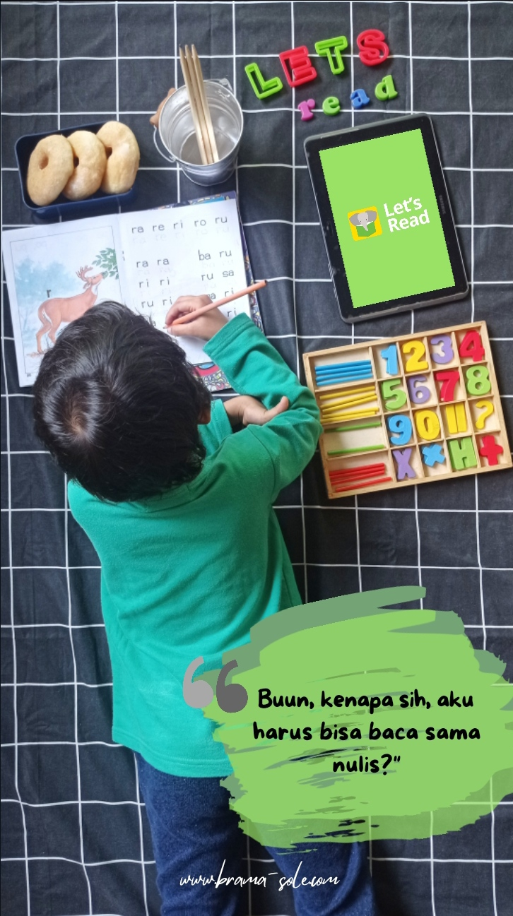 Latihan Menulis Dan Membaca Untuk Anak 6 Tahun