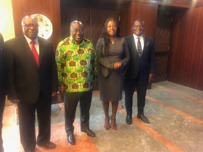 Vodafone CEO Meets President And Pledges Total Commitment To Ghana