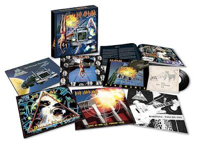 Resultado de imagem para Def Leppard lança box com tudo que gravou durante a década de 1980