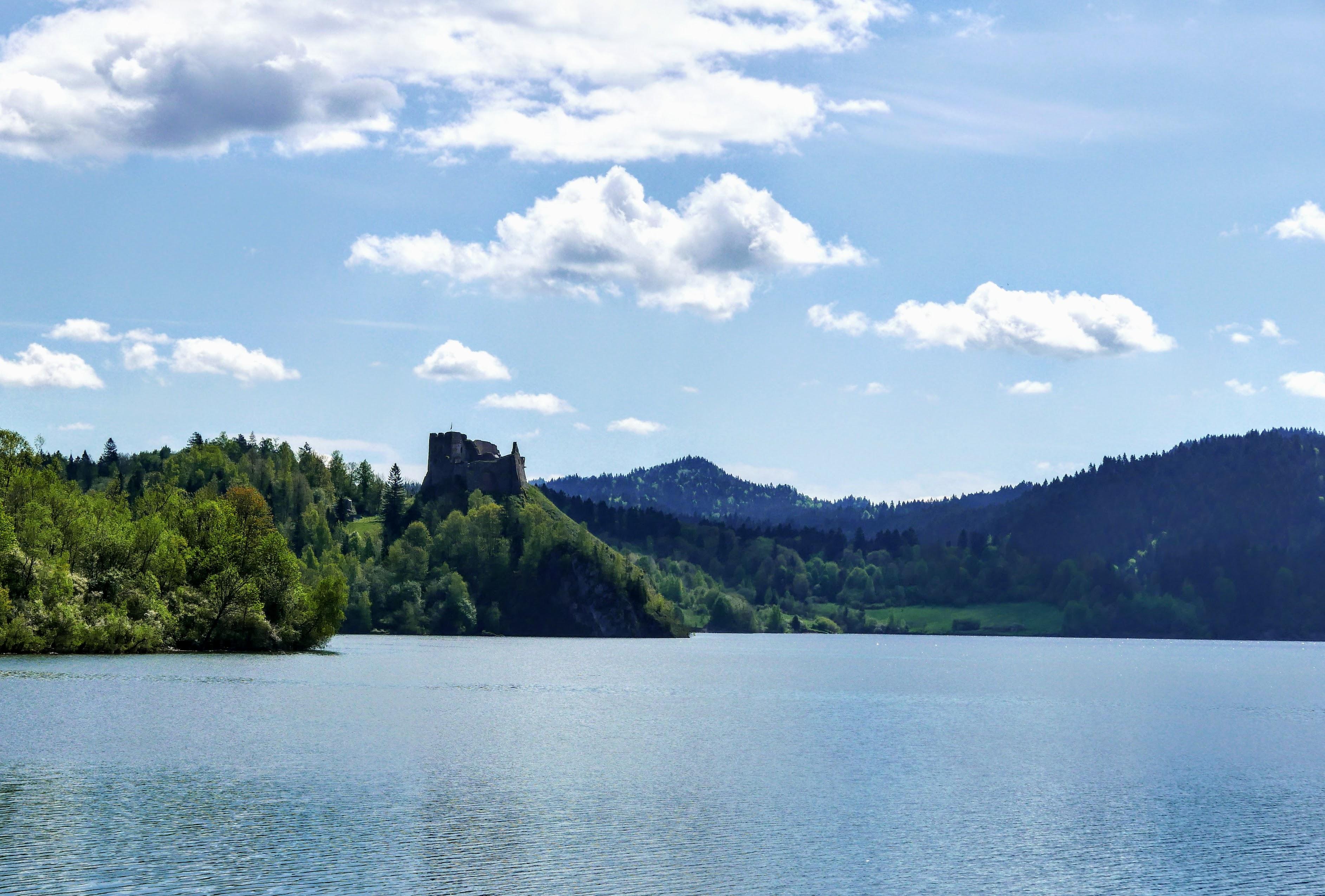 Pieniny, Velo Czorsztyn. Trasa rowerowa dookoła Jeziora Czorsztyńskiego. Pieniny atrakcje. Pieniny na rowerze. Velo Czorsztyn mapa trasy.