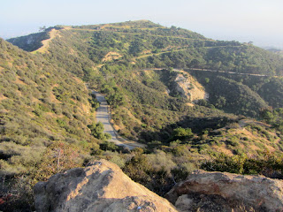 View south from Mt. Bell toward Mt. Hollywood