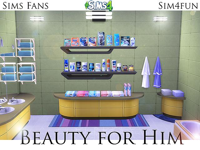 My Sims 4 Blog Shaving Bathroom Clutter By Sim4fun