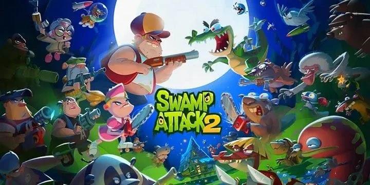 Swamp Attack 2 هجوم المستنقع 2: الرجل السمين ووحوش المستنقعات
