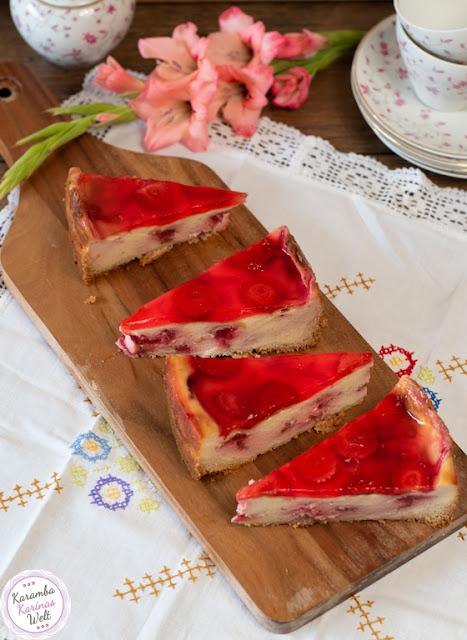 Rezept Erdbeer-Schmand-Kuchen