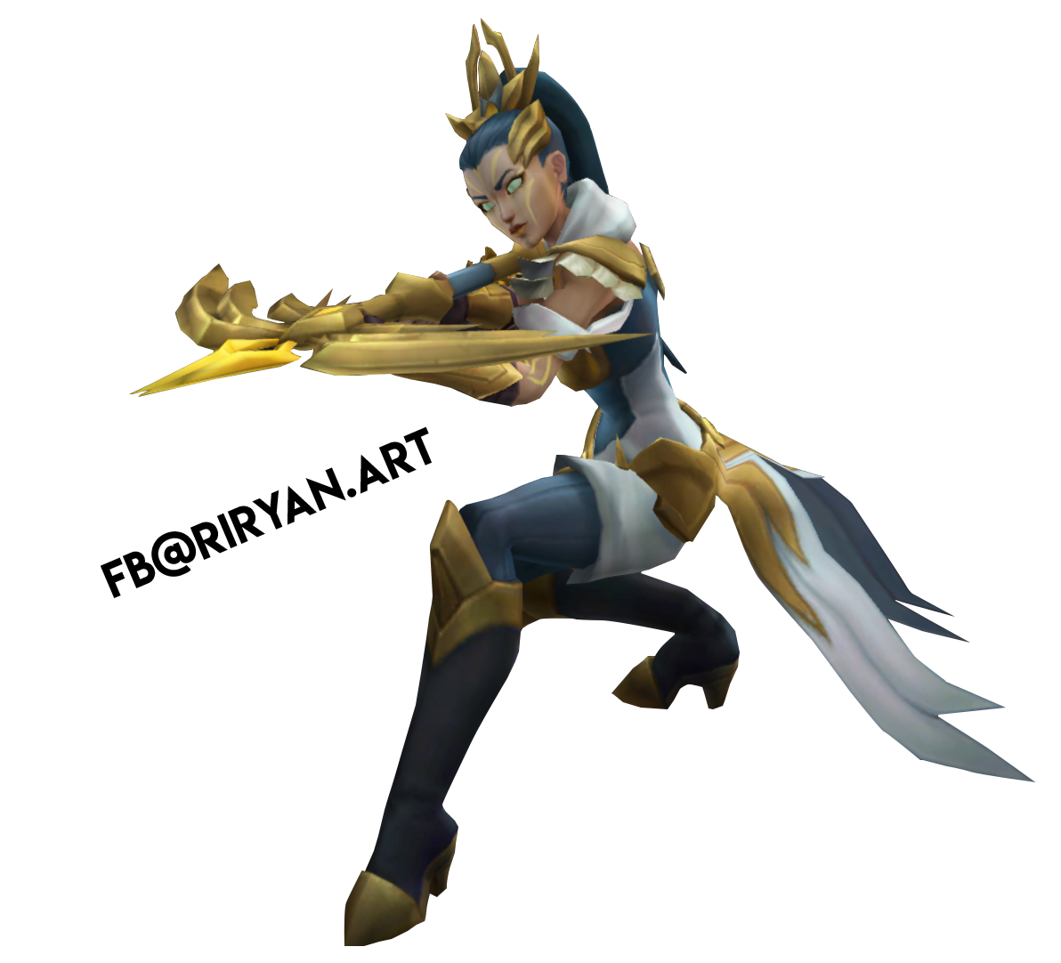 League of Legends / Vayne Arco de Luz