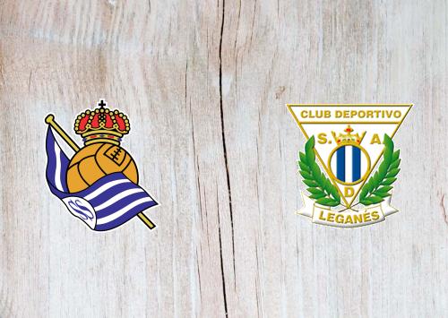 Real Sociedad vs Leganes -Highlights 8 November 2019