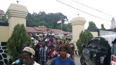 Kapolres Sorong Sepakat dengan Wartawan tidak Siarkan Berita Penangkapan Aktifis KNPB