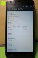 "interner Speicher: HOMTOM HT30 3G Smartphone 5.5""Android 6.0 MT6580 Quad Core 1.3GHz Mobile Phone 1GB RAM 8GB ROM Smart Gestures Wake Gestures Dual SIM OTA GPS WIFI,Weiß"