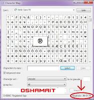 Kumpulan Kode ASCII - Alt+Numlock dan Cara Penggunannya