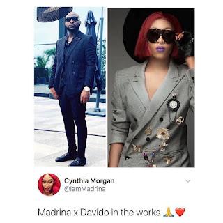 Madrina X Davido, Cynthia Morgan Finally React On Her New Music.
