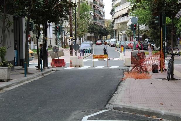 Προσωρινές κυκλοφοριακές ρυθμίσεις στην οδό Μανδηλαρά στη Λάρισα