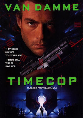 Poster Of Timecop (1994) In Hindi English Dual Audio 300MB Compressed Small Size Pc Movie Free Download Only At worldfree4u.com