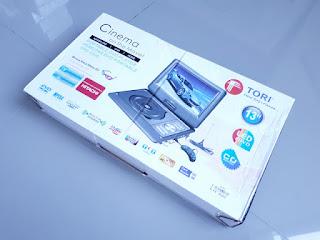 DVD Player Portable Tori TPD-1300 New Sisa Stok