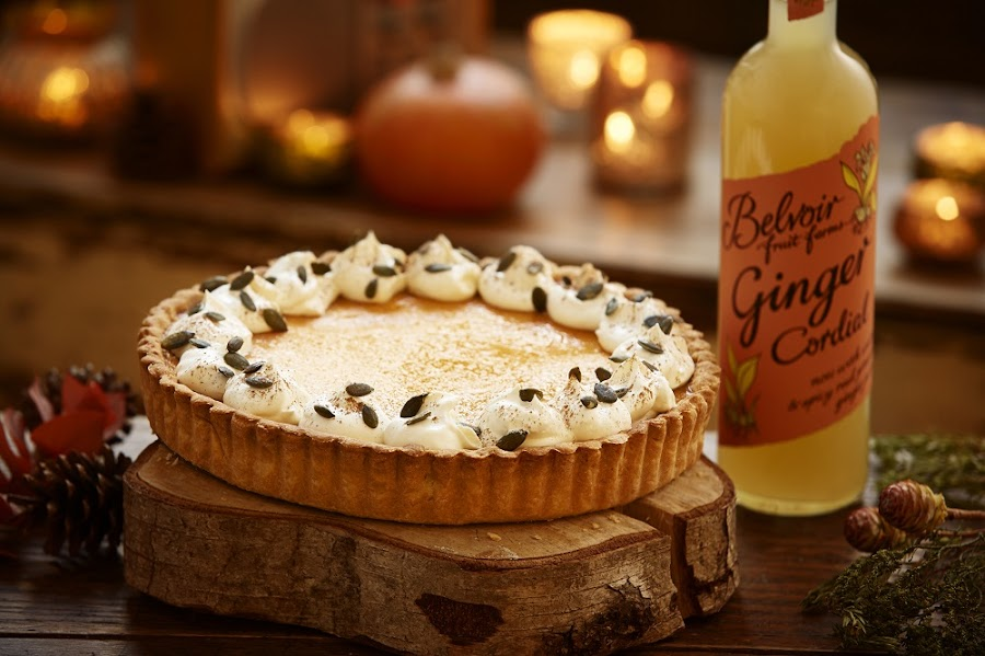 Ginger Pumpkin Pie: Great Recipe For Autumn And Halloween
