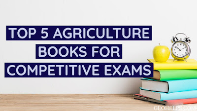 Top 5 Most Useful Department of Agriculture Books for Competitive Exams in India