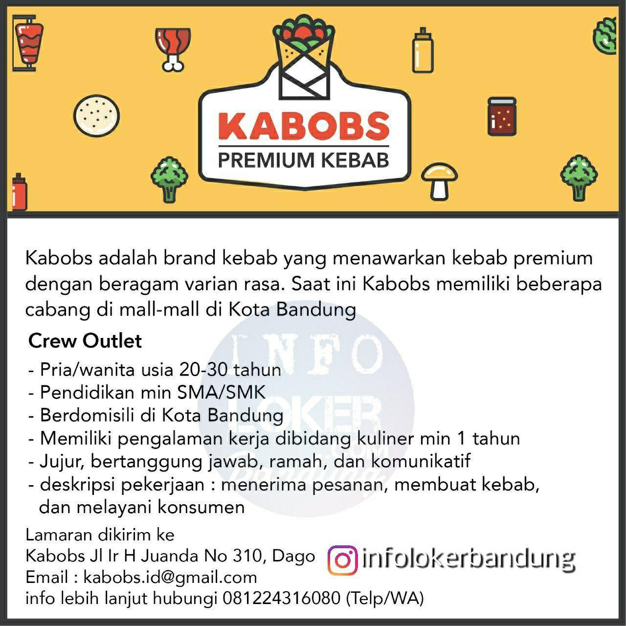 Lowongan Kerja Kabobs Bandung April 2018