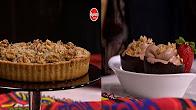 برنامج  مغربيات 3-6-2017 طريقة عمل فطيرة الدجاج بالكاسترد - موس شيكولاتة مع نادية سرحان