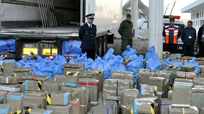 El hachís marroquí que pasa por la brecha ilegal de El Guerguerat inunda a Mauritania y al mercado marroquí.