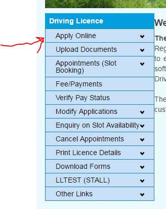 How to Apply For Two Wheeler License