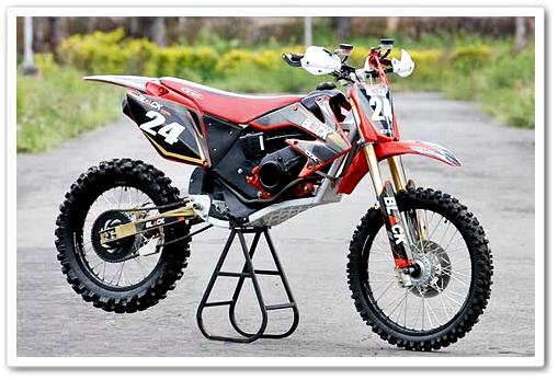 Honda BeAT Modif Ala Motor Trail Penggaruk Tanah