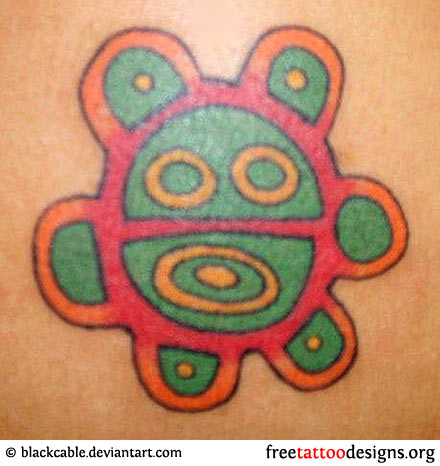 0811e0762 Picture above show a typical Taino Tattoo...done using body stamps.