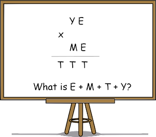 A Verbal Arithmetic Puzzle
