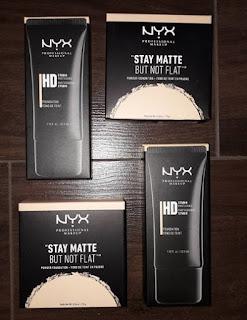 NYX Professional Makeup  HD Studio Photogenic  Stay Matte Not Flat Powder Foundation.