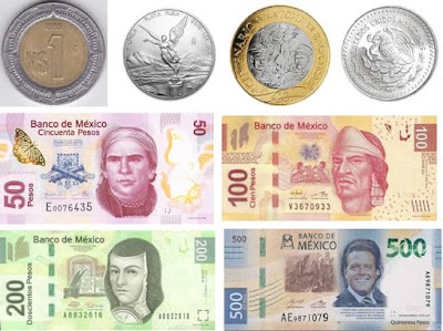 Countries and Currency Mexico Peco