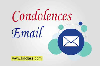 condolence email to friend