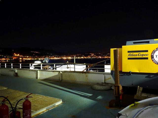 P1180155 - Primeiras imagens do Costa Concordia depois de ser resgatado em 2014
