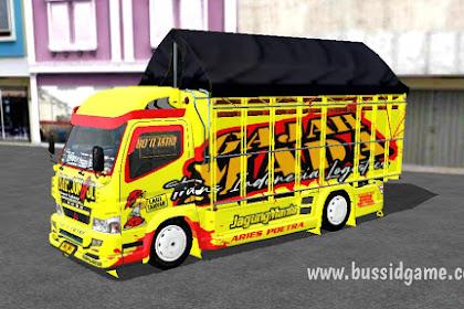 Mod Truck Canter Mukhlas v2 Varian M By RSM