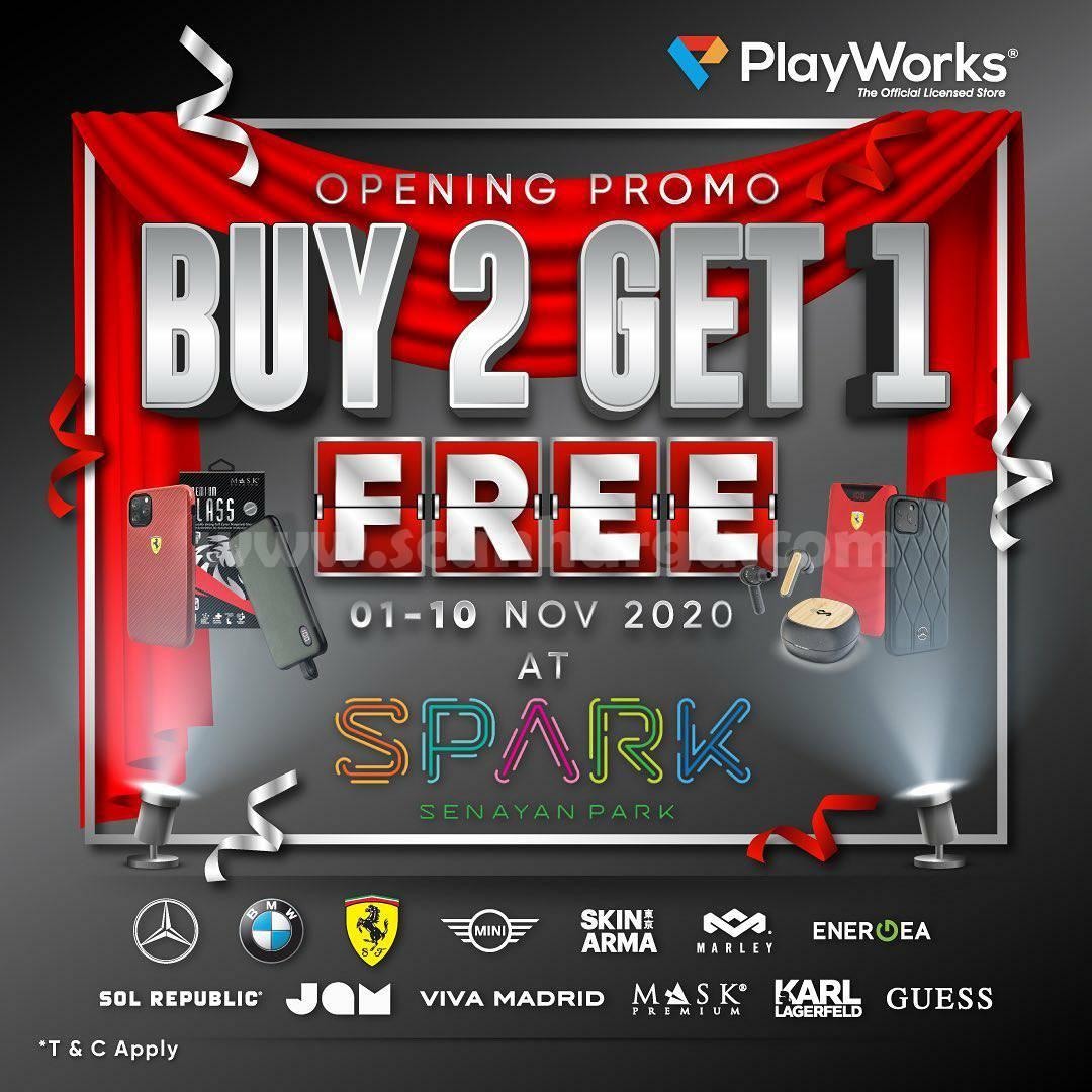 SPARK Opening Promo Buy 2 Get 1 Free at Senayan Park