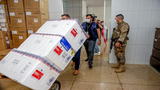 IMUNIZANTES: Rondônia recebe remessa com 20.610 doses de vacinas contra covid-19