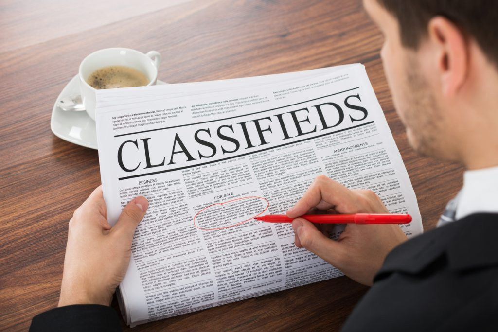 Classified Ads: Call to Action in Marketing & Sense of Urgency