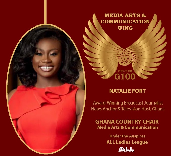 GHone TV's Natalie Fort Appointed Ghana Country Chair for G100 Media Arts & Communication