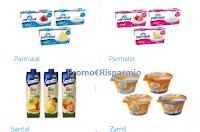 Logo Buoni sconto Parmalat, Saltal, Zymil: stampali subito!