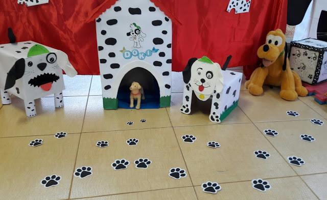 Famosos Profª: Ivani Ferreira: Artes : Cachorro - Reciclagem papelão XP49