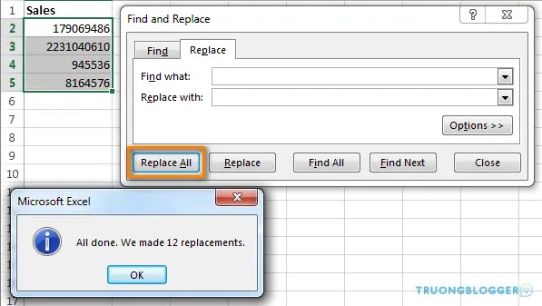 Hướng dẫn 3 cách xoá khoảng trắng thừa trong Excel